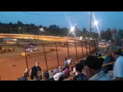 Ponderosa Speedway 7-23-16 Kdra super stocks hot laps