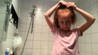 видео Прическа две шишки для девочек