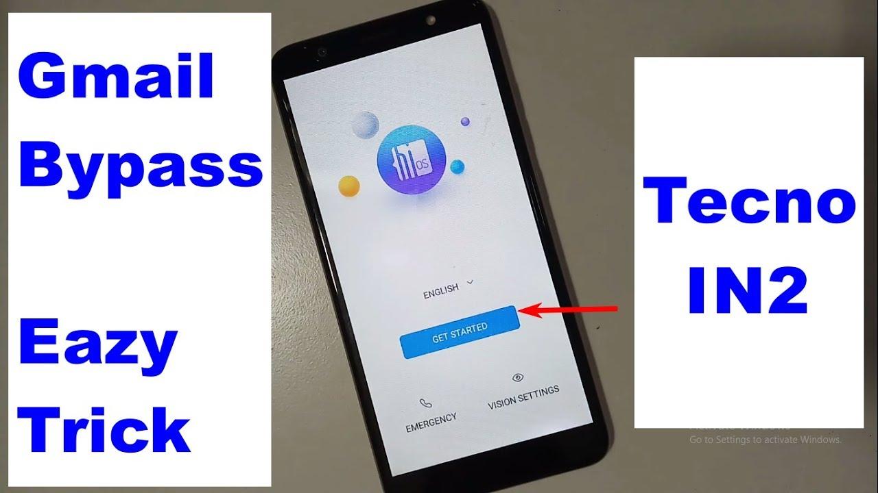 Tecno IN2 Google lock reset Frp NEW 2018