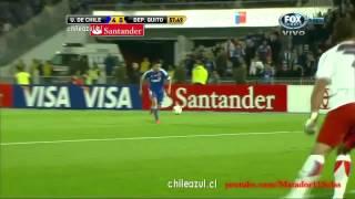 U de Chile 6-0 Deportivo Quito HD Copa Libertadores 2012 ADN Radio Relatos Trovador del Gol [720p]