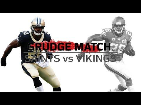 Adrian Peterson Returns to Minnesota   Grudge Match   Saints vs. Vikings   NFL Week 1