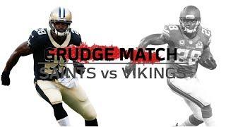 Adrian Peterson Returns to Minnesota | Grudge Match | Saints vs. Vikings | NFL Week 1