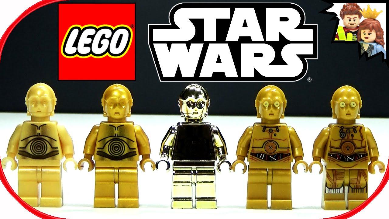 Lego Star Wars C 3po Minifigure Collection Brickqueen