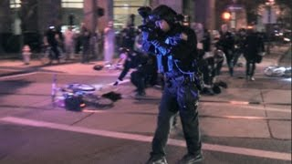 Phoenix Police Shoot Pepper Balls at Protesters, Six Arrested