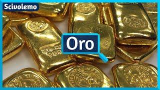 La origino de la oro