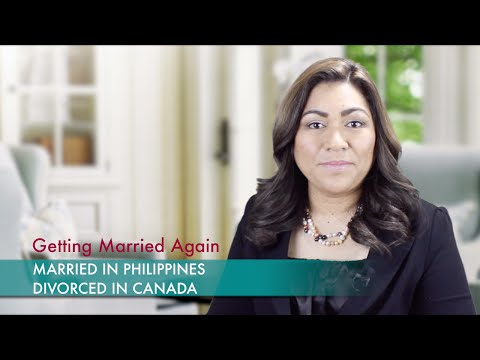 Getting Married Again: Married In Philippines, Divorced In Canada