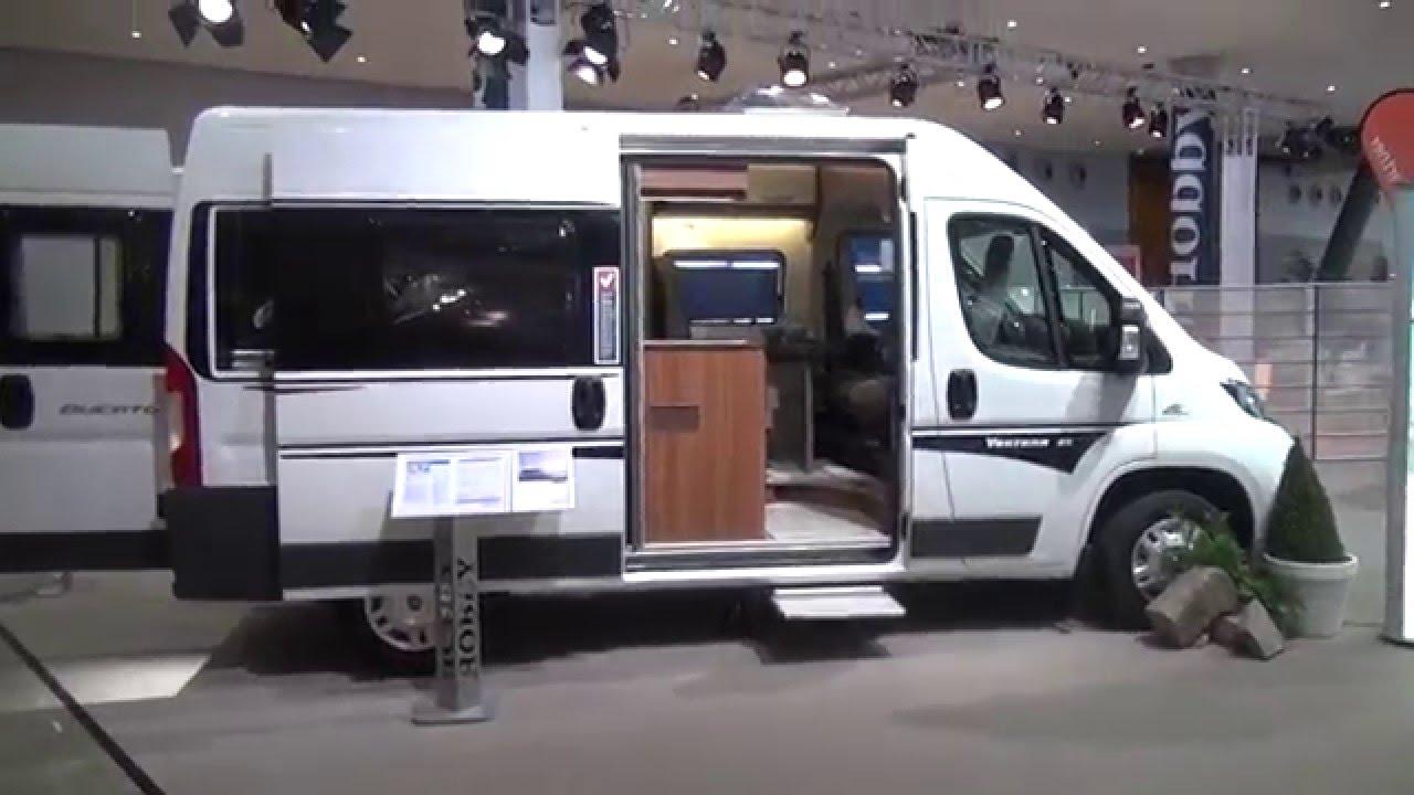09653a09750 Hobby Vantana 55 motorhome review - YouTube