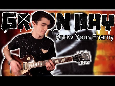 Green Day - Know Your Enemy (Guitar & Bass Cover w/ Tabs)