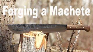Forging a Machete - Blacksmithing