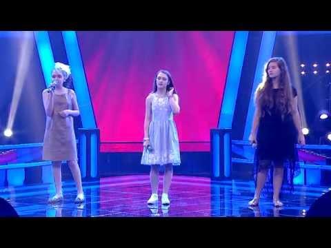 O Ses Çocuklar Alin-Beyza-İrem Eşleşmesi