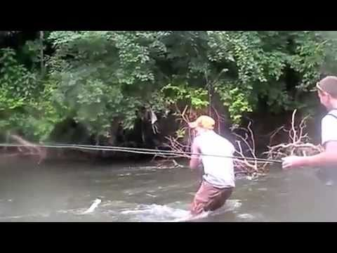 Fly fishing the mad river in ohio youtube for Fly fishing ohio