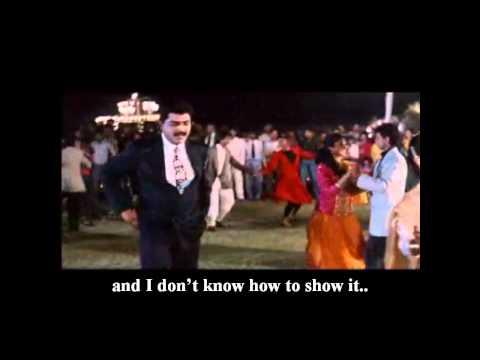 'Chupana Bhi Nahin Aata' (Movie: BAAZIGAR- 1993)- With English Subtitle.. HD