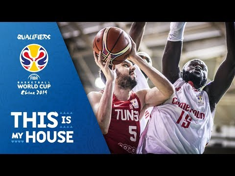Cameroon v Tunisia - Full Game - FIBA Basketball World Cup 2019 - African Qualifiers