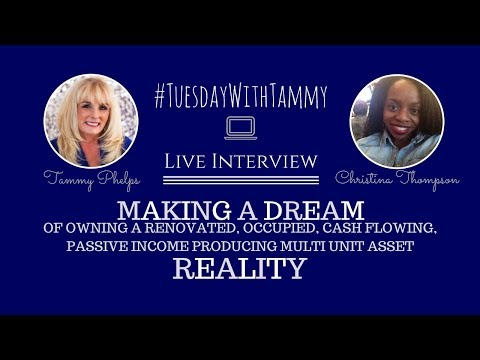 Making a Dream of Owning a Passive Income Producing Multi Unit Asset REALITY