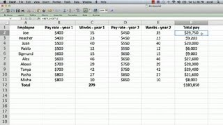 How to Edit a Formula in Excel : Using Microsoft Excel