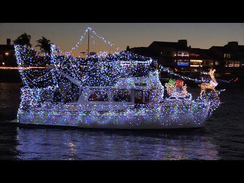 Huntington Harbour Boat Parade SCH January 2016