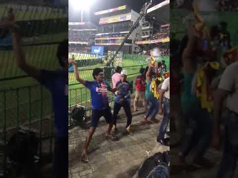 Srilanka fans after India vs Bangladesh final match