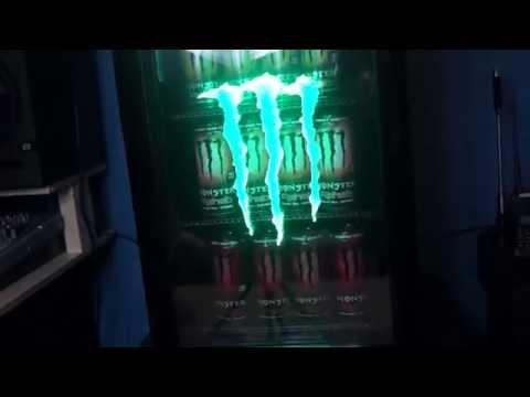 Monster Energy mini fridge GS-2 edition