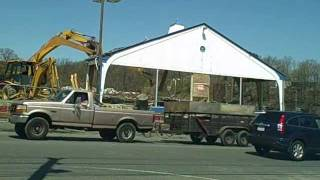 Smyly Buick Demolition Delorean Dealership