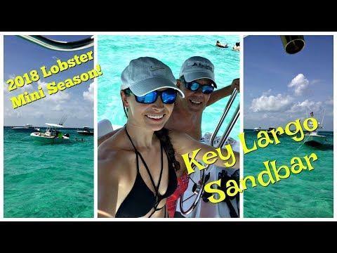 Key Largo Sandbar - Pre Lobster Mini Season