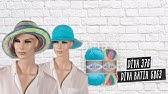 Alize Diva ile Yazlık Şapka Yapımı-Making Summer Hats with Alize Diva&ampDiva Batik