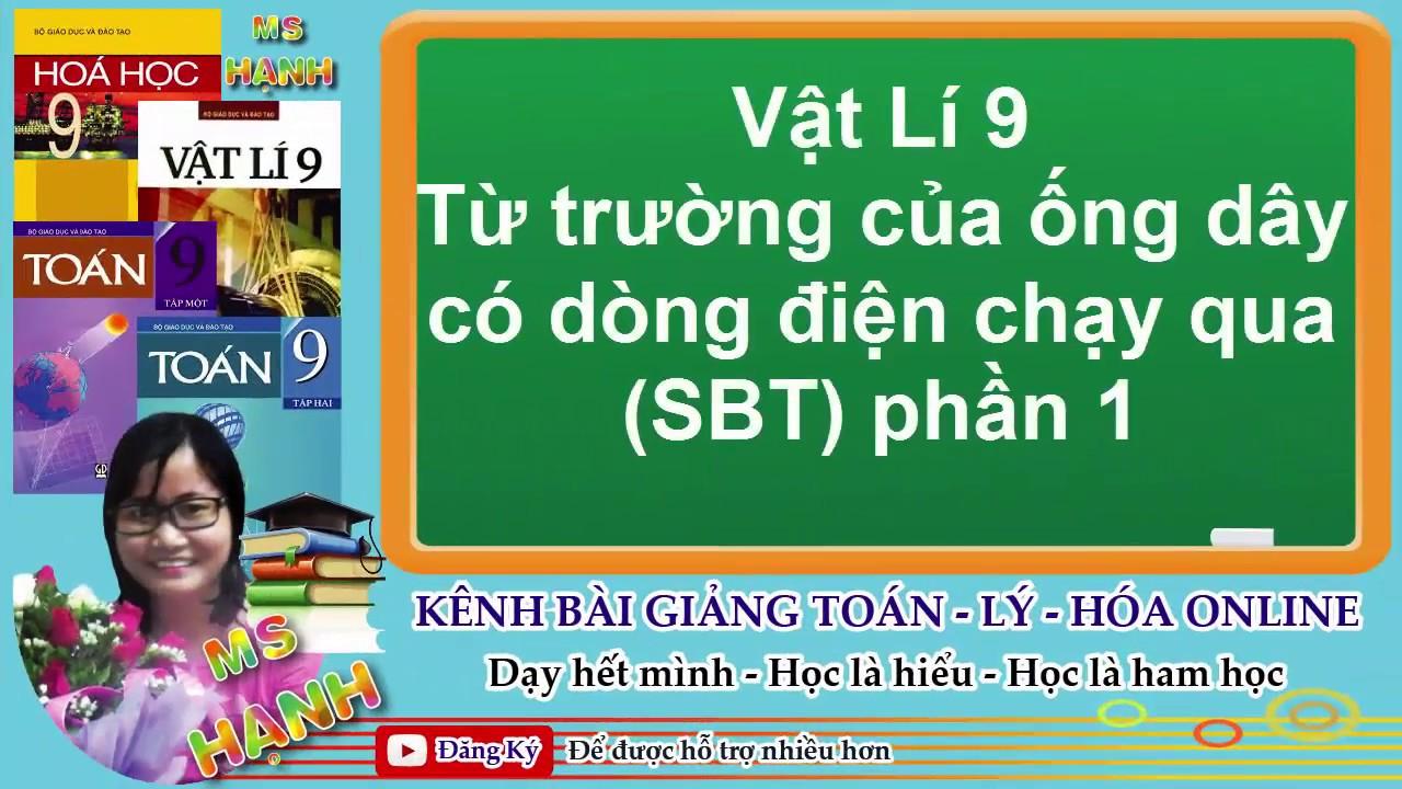 [ Vật Lí 9 ]  Bài 24 Từ trường của ống dây có dòng điện chạy qua (SBT) Phần 1