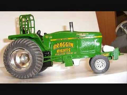 Toy Tractors For Sale >> Toy Pulling Tractor Youtube