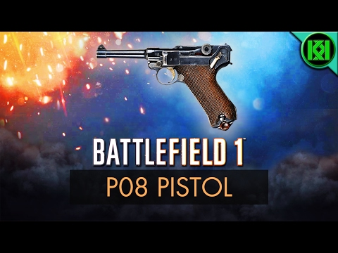 Battlefield 1: P08 Pistol Review (Weapon Guide) | BF1 Weapons + Guns | Luger Pistol (PO8) Gameplay