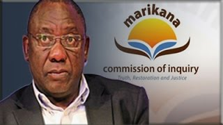 Marikana Commission of Inquiry, 12 August 2014: Session 4