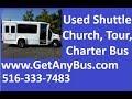 E350 mini bus for sale   2008 Ford E350 Non CDL Wheelchair Shuttle Bus