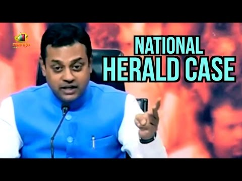 Dr Sambit Patra Targets Sonia and Rahul on National Herald Case | Young India | Mango News
