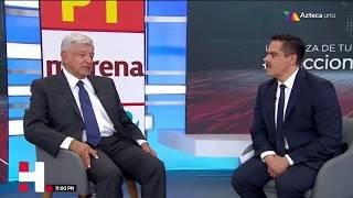 AMLO en entrevista con Javier Alatorre