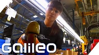 Arbeiten am Auto-Fließband: Wie hart ist der Job wirklich? | Galileo | ProSieben