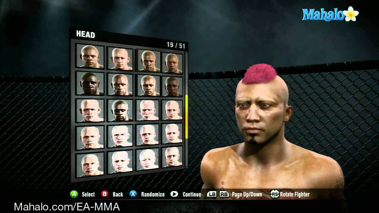 How to Customize your character in EA Sports MMA for the