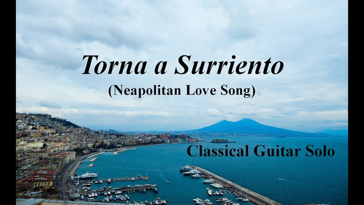 Image result for song torna a surriento