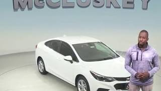 183448 - New, 2018, Chevrolet Cruze, LT, Sedan, Test Drive, Review, For Sale -