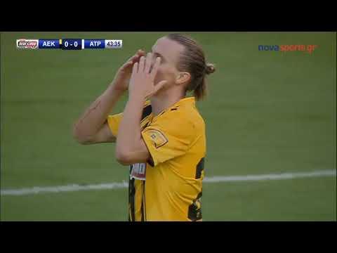ΑΕΚ - Ατρόμητος 0-2: Τα γκολ και οι καλύτερες φάσεις