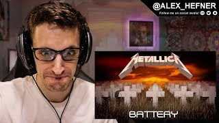 "NO POSSIBLE WAY!! | METALLICA - ""Battery"" | (REACTION)"