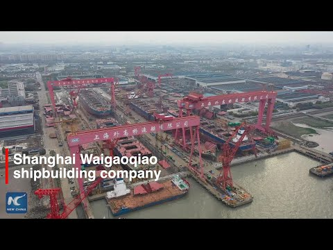 China shipbuilder speeds up production