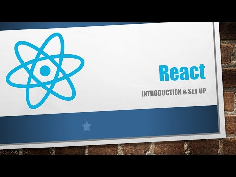 1 - React And Spring Boot : Introduction & Set Up | ReactJS | ReactDOM | Spring Boot thumbnail