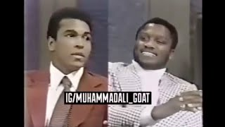 Download Rare - Muhammad Ali and Joe Frazier appear on same talk show - Part 1 Mp3 and Videos