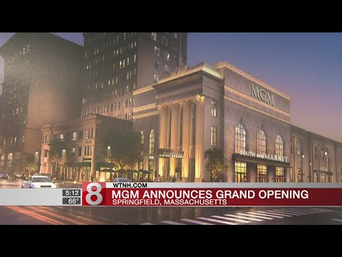 MGM sets August opening date for Massachusetts casino