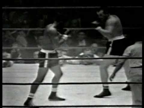 Floyd Patterson vs Ingemar Johansson III - March 13, 1961 - Entire fight - Rounds 1 - 6 & Interview