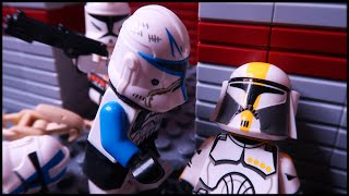 No Clone Left Behind - A LEGO Clone Wars Story (Stop Motion Animation)