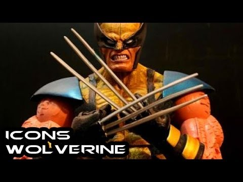 Marvel Legends Icons WOLVERINE Figure Review