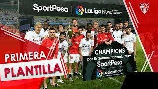 El Sevilla FC remonta al Simba SC con tres goles en los últimos 10 minutos