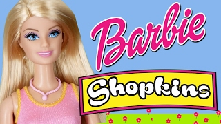 Barbie Shopkins Finger Family | WigglePop