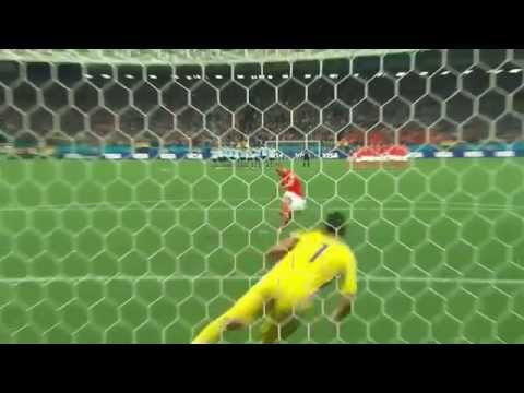 Argentina Vs Netherlands Semi Final tie breaker World Cup 2014