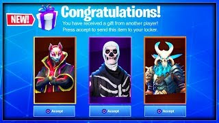 *NEW* HOW TO TRADE/GIFT SKINS IN FORTNITE TO FRIENDS (GIFTING SYSTEM RELEASE DATE INFORMATION)
