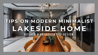 Modern Minimalist Home by TheLakeside  KITCHEN & BATHROOM TOPDESIGN  Rousing Concerto by Nu Infinity